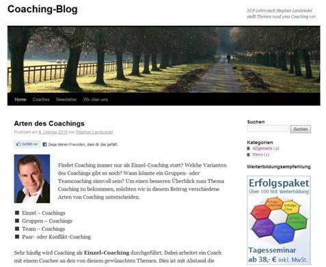 coaching blog Coaching Blog