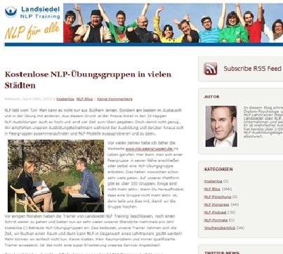 Landsiedel NLP Blog